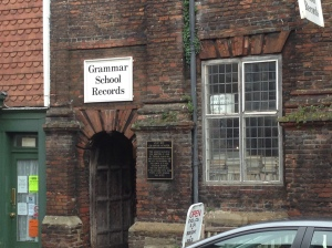 Grammer School Records ~ Rye. You go in, but you never ever leave.